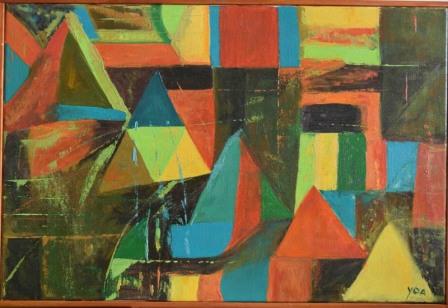 Geometría, 40x60 cm, $60.000