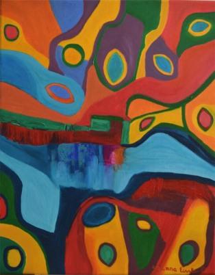 Abstracto 50x40 cm, $50.000, 3 Feb. 2017