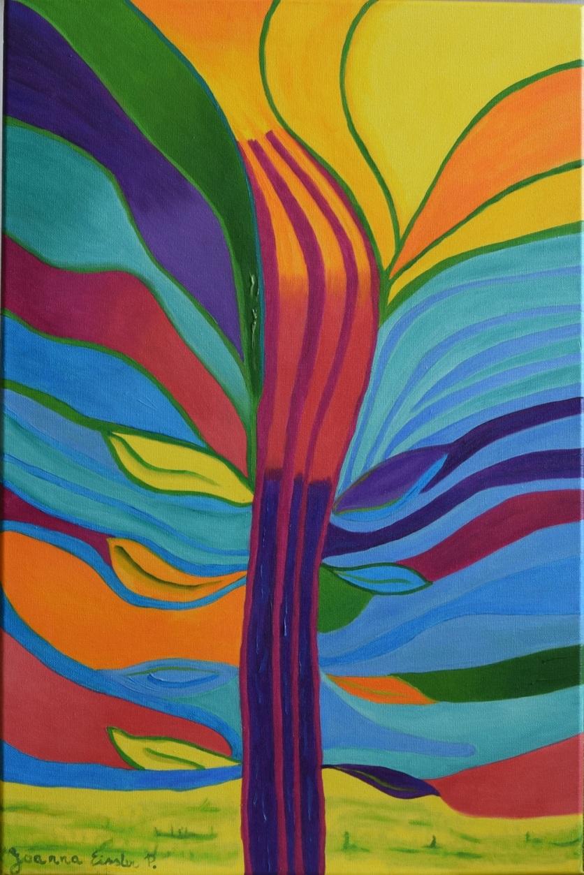 """""""Cactus"""", 60x40cm, 21 Dic. Vendido/Sold"""